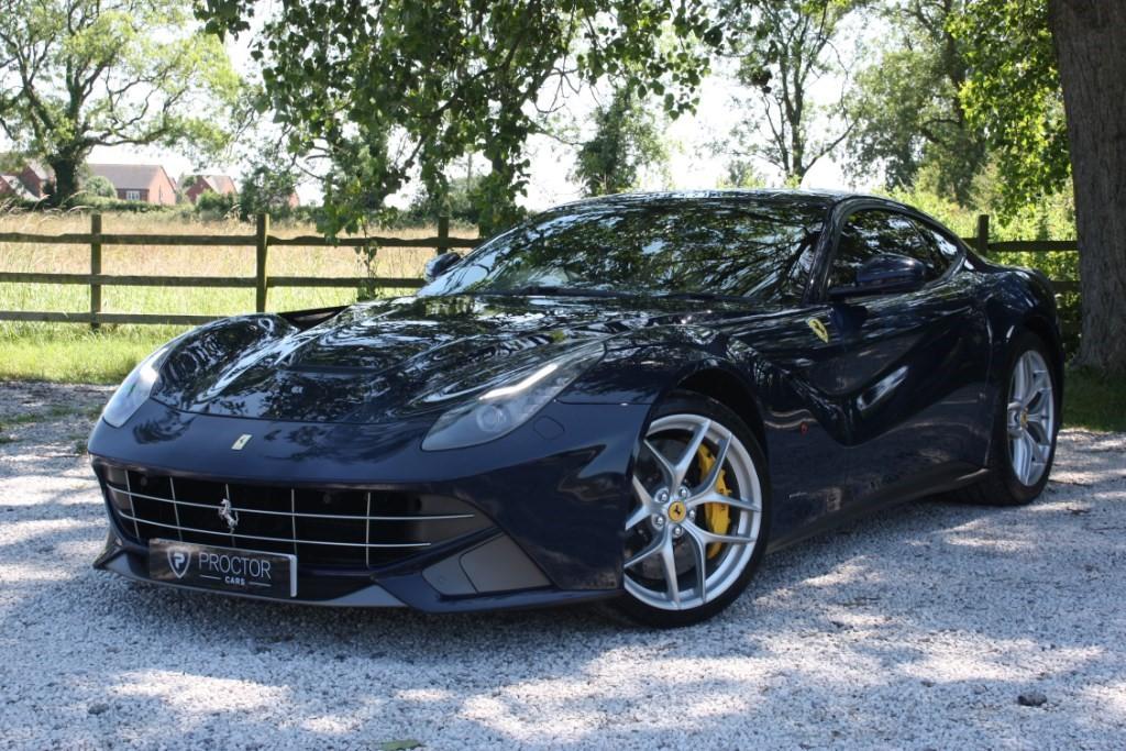 all Ferrari F12berlinetta 6.2 F1 Dual Clutch 2dr in wessington-derbyshire