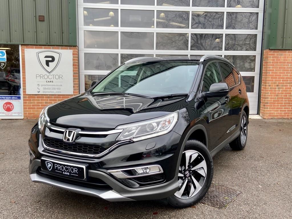 all Honda CR-V 1.6 i-DTEC SR 4WD (s/s) 5dr in wessington-derbyshire