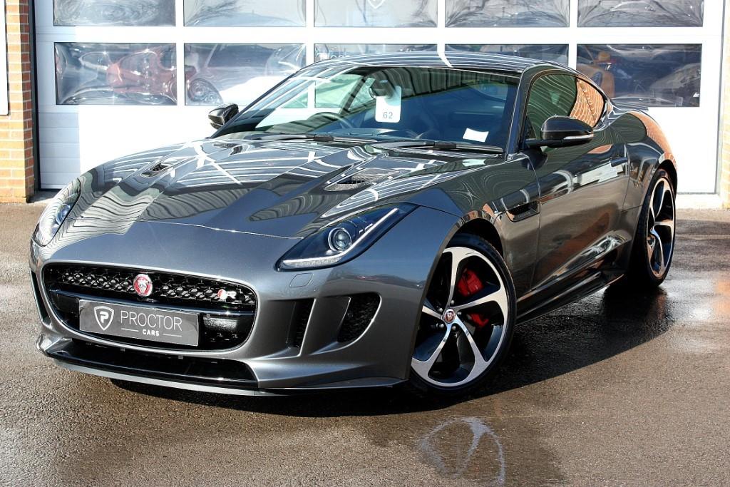 all Jaguar F-Type 5.0 V8 R Quickshift (AWD) 2dr VAT QUALIFYING in wessington-derbyshire