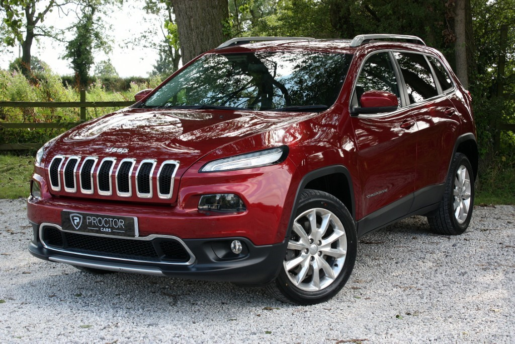 all Jeep Cherokee 2.2 MultiJetII Limited Auto 4WD (s/s) 5dr in wessington-derbyshire