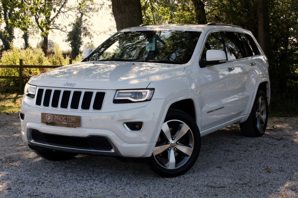 all Jeep Grand Cherokee 3.0 V6 CRD Overland Auto 4WD 5dr in wessington-derbyshire