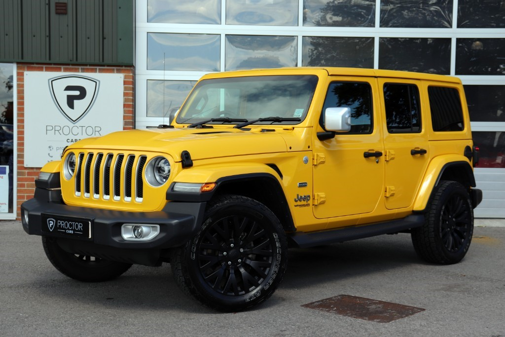 all Jeep Wrangler 2.2 MultiJet II Overland Auto 4WD (s/s) 4dr in wessington-derbyshire