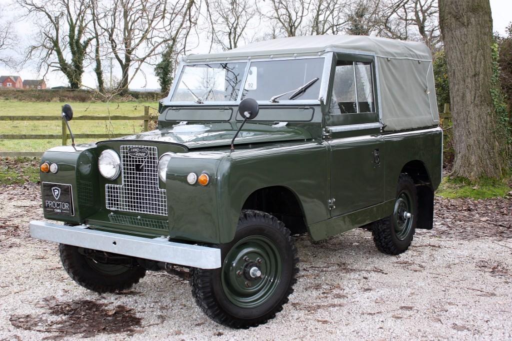 all Land Rover Defender Series II 2250.0 3dr in wessington-derbyshire