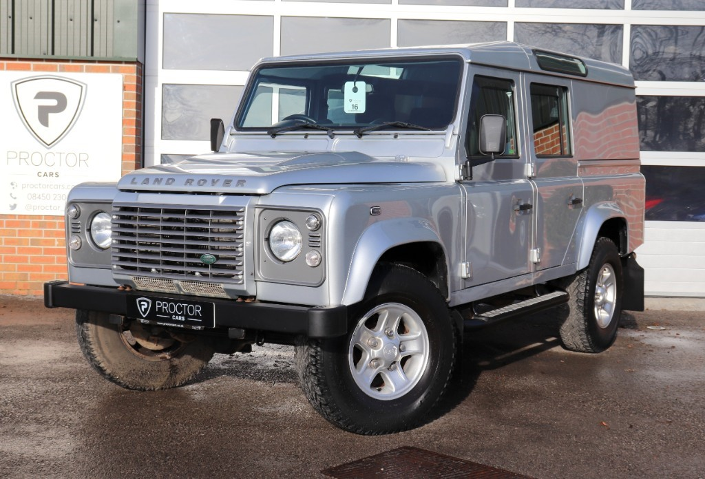 all Land Rover Defender 110 2.2 D DPF XS Utility Station Wagon 5dr in wessington-derbyshire