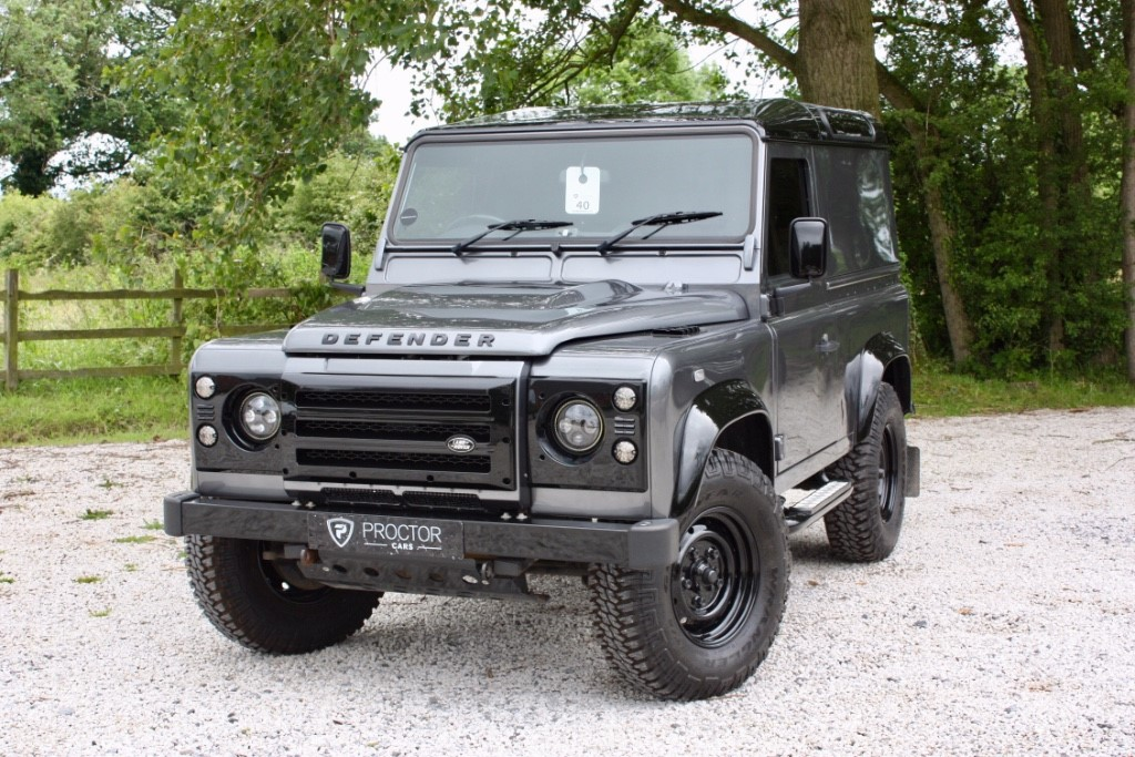 all Land Rover Defender 90 2.2 TD XS Hard Top 3dr in wessington-derbyshire
