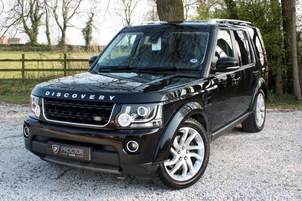 all Land Rover Discovery 4 3.0 SD V6 Landmark (s/s) 5dr in wessington-derbyshire
