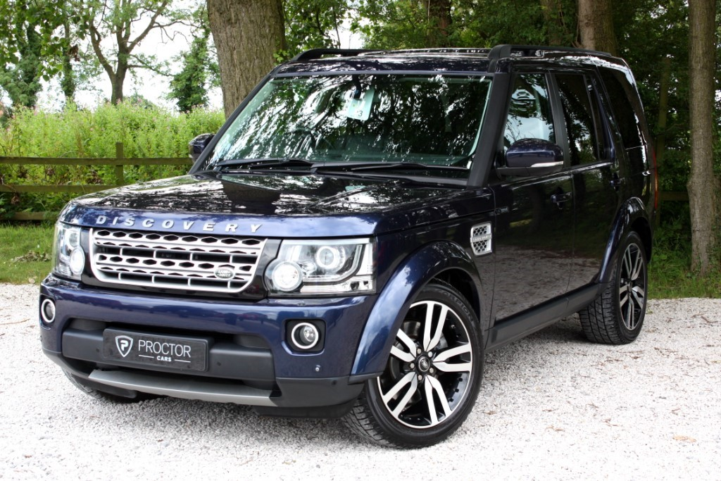 all Land Rover Discovery 4 3.0 SD V6 HSE Luxury (s/s) 5dr in wessington-derbyshire