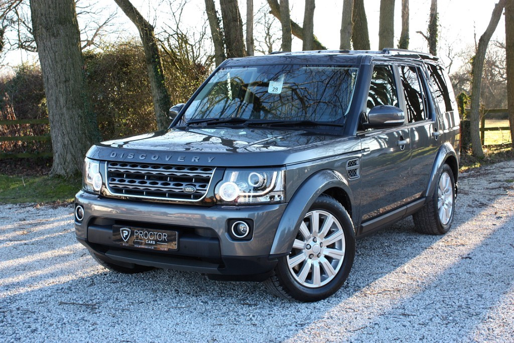 all Land Rover Discovery Discovery 4 3.0 SD V6 SE Commercial 5dr in wessington-derbyshire
