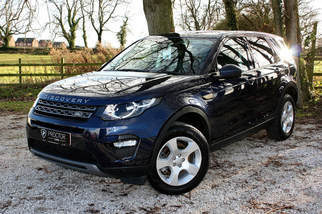 all Land Rover Discovery Sport 2.0 TD4 SE Tech 4X4 5dr in wessington-derbyshire