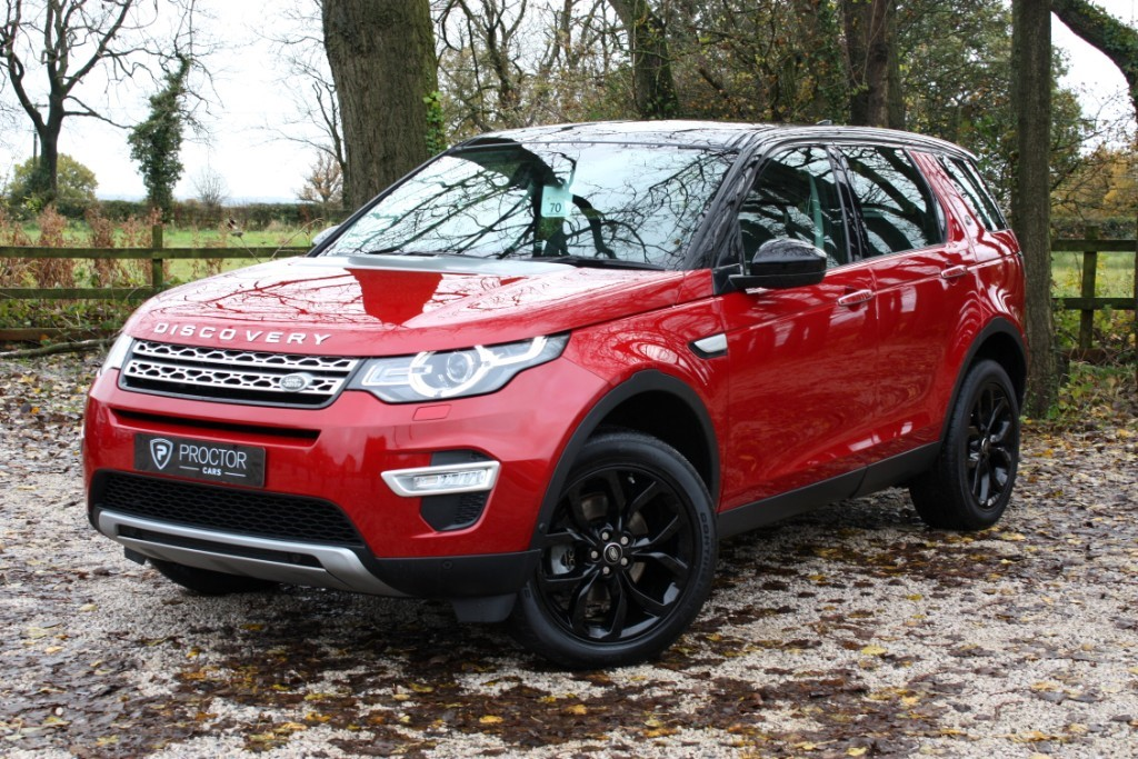 all Land Rover Discovery Sport 2.0 TD4 HSE Luxury Auto 4WD (s/s) 5dr 7 Seats in wessington-derbyshire