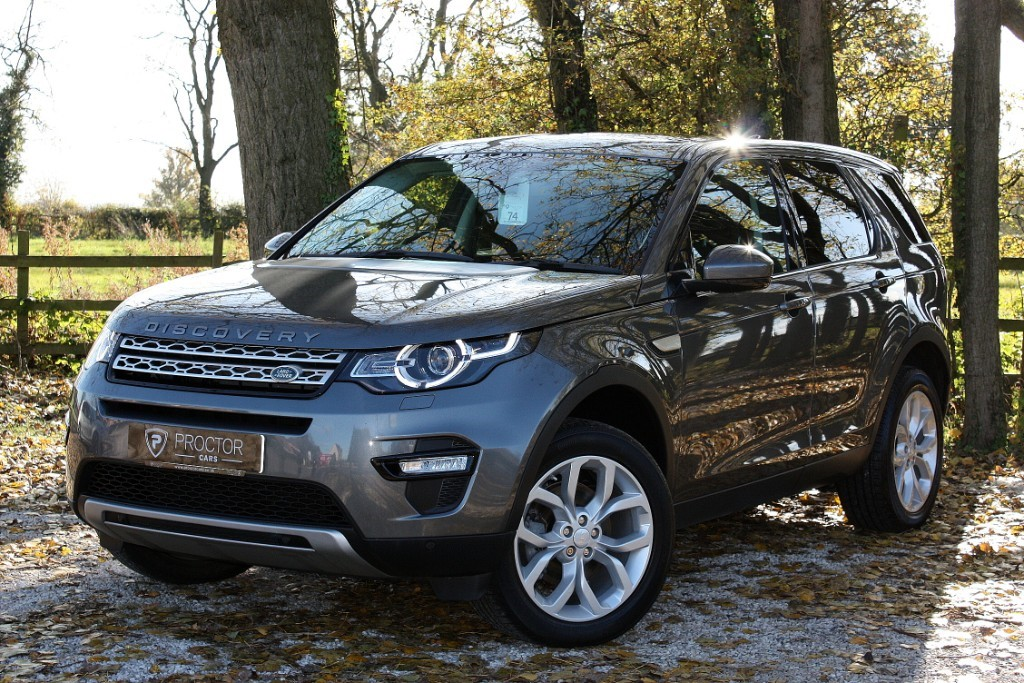 all Land Rover Discovery Sport 2.0 TD4 HSE Auto 4WD (s/s) 5dr 7 Seat in wessington-derbyshire