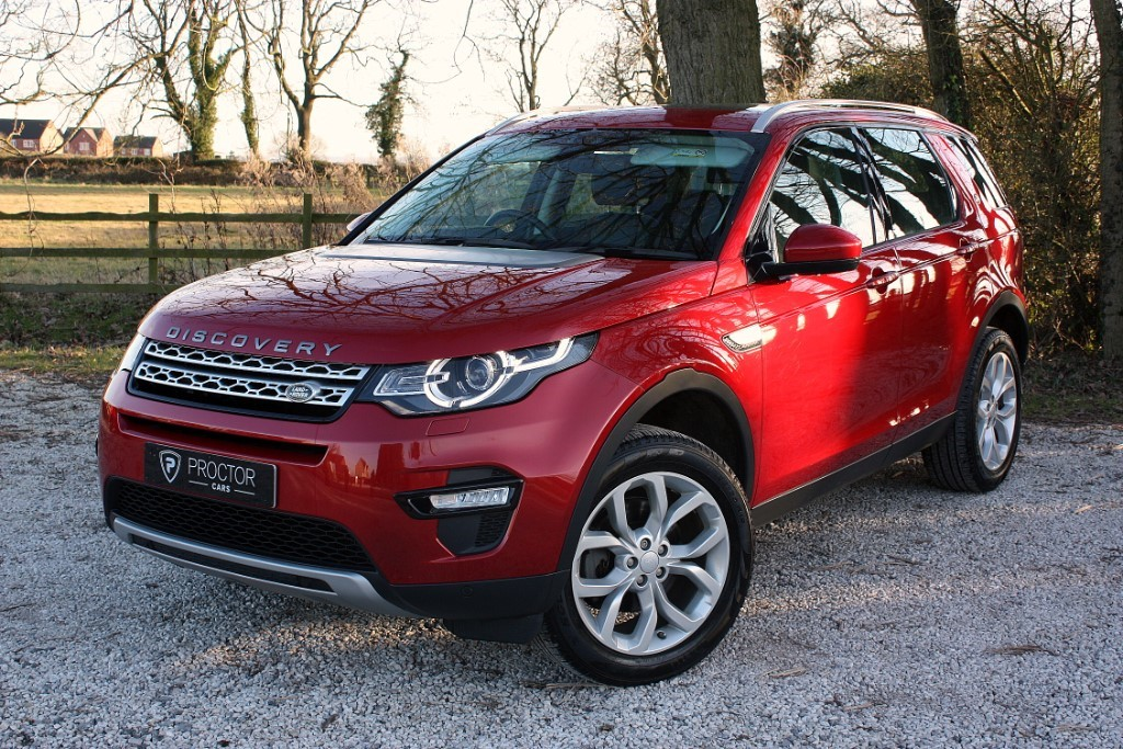 all Land Rover Discovery Sport 2.0 TD4 HSE 4X4 (s/s) 5dr in wessington-derbyshire