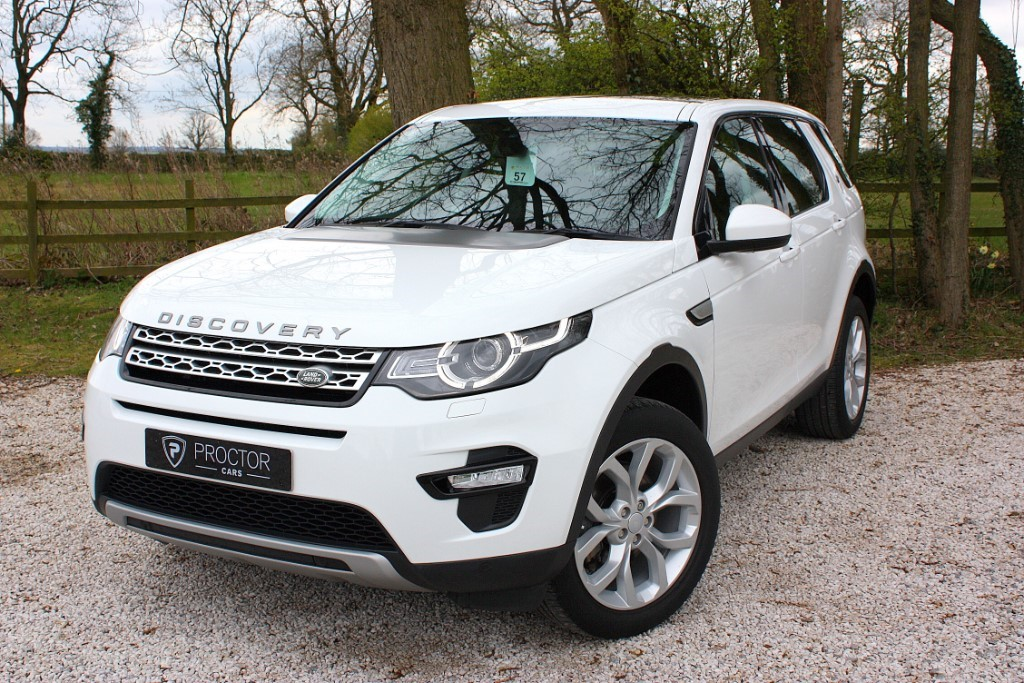 all Land Rover Discovery Sport 2.0 TD4 HSE 4X4 5dr in wessington-derbyshire