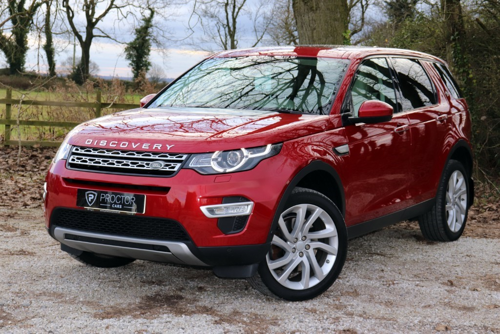 all Land Rover Discovery Sport 2.0 SD4 HSE Luxury Auto 4WD (s/s) 5dr 7 Seat in wessington-derbyshire