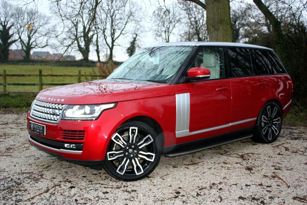 all Land Rover Range Rover 3.0 TD V6 Vogue 4X4 (s/s) 5dr in wessington-derbyshire