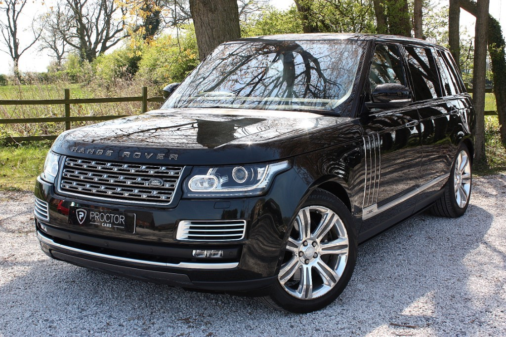 all Land Rover Range Rover 5.0 V8 Supercharged SV Autobiography LWB SUV 4X4 (s/s) 5dr in wessington-derbyshire