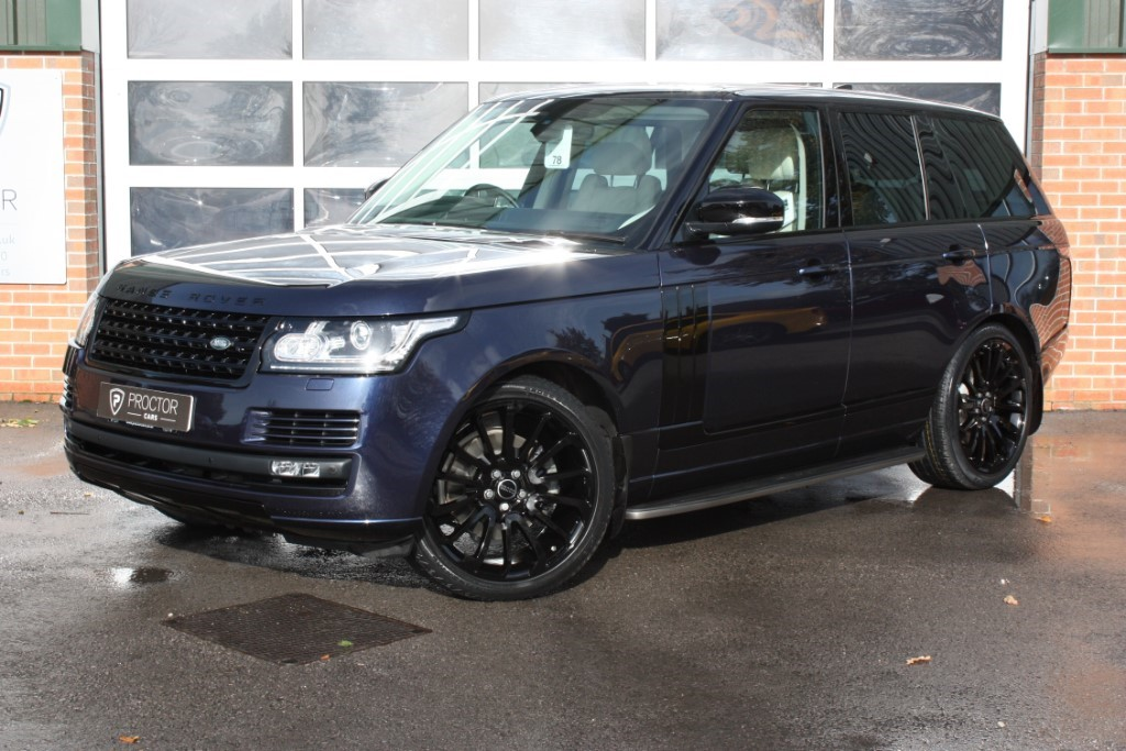 all Land Rover Range Rover 3.0 TDV6 Vogue 4x4 5dr (start/stop) in wessington-derbyshire