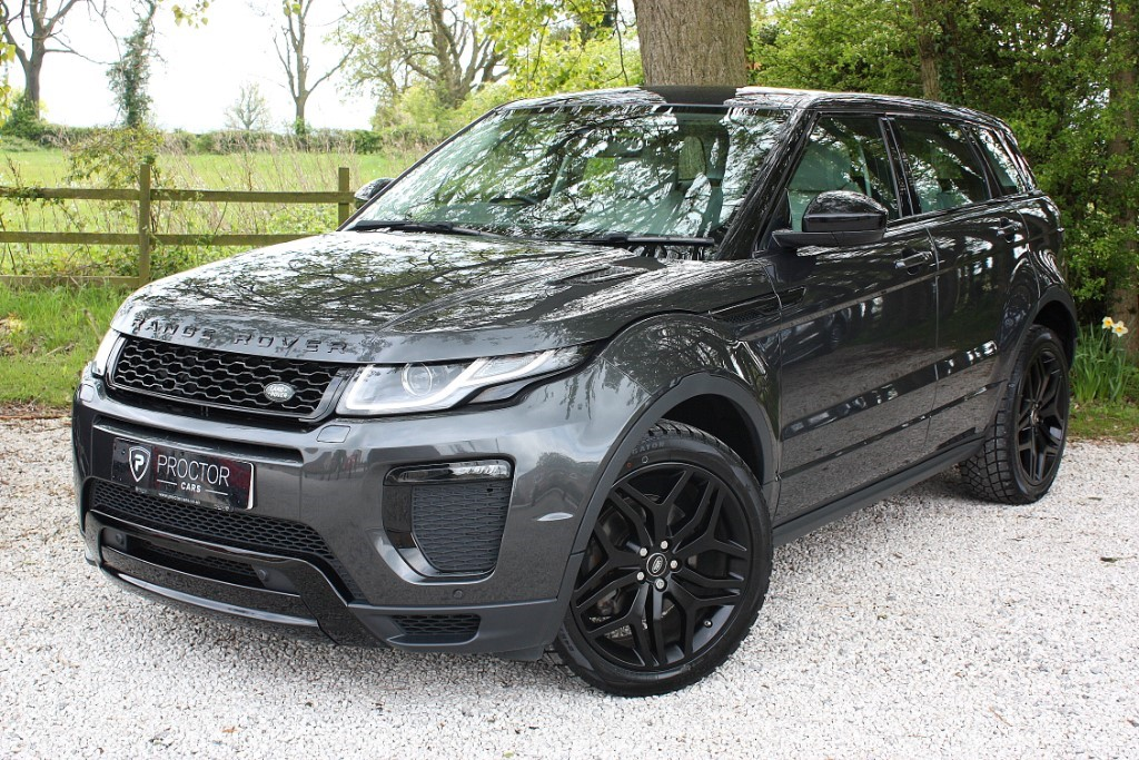 all Land Rover Range Rover Evoque 2.0 TD4 HSE Dynamic AWD (s/s) 5dr in wessington-derbyshire