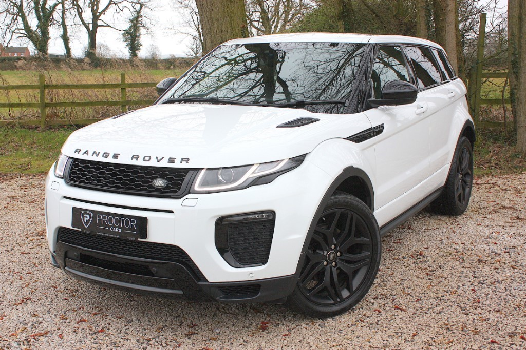 all Land Rover Range Rover Evoque ** SOLD DELIVERING TO SELSTON ** in wessington-derbyshire