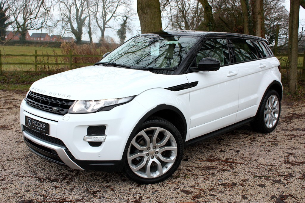 all Land Rover Range Rover Evoque 2.2 SD4 Dynamic Lux AWD 5dr in wessington-derbyshire