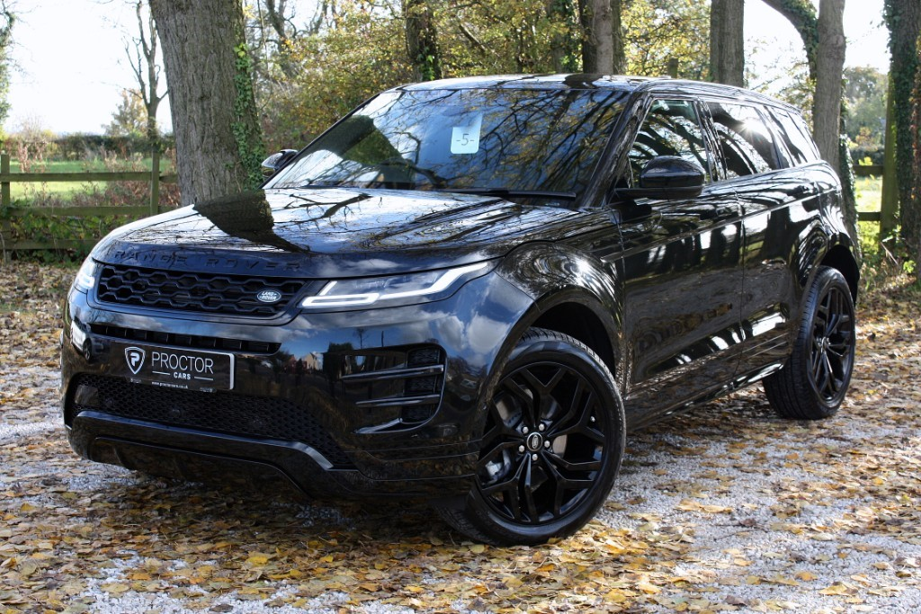 all Land Rover Range Rover Evoque 2.0 P200 R-Dynamic HSE Auto 4WD (s/s) 5dr in wessington-derbyshire