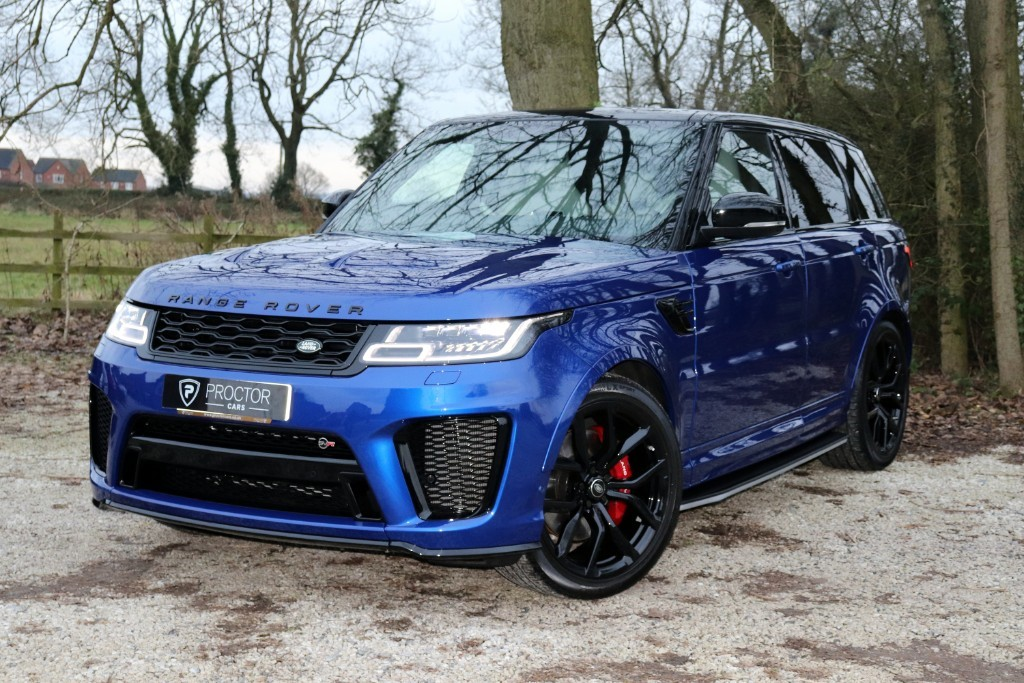 all Land Rover Range Rover Sport 5.0 P575 V8 SVR Auto 4WD (s/s) 5dr in wessington-derbyshire