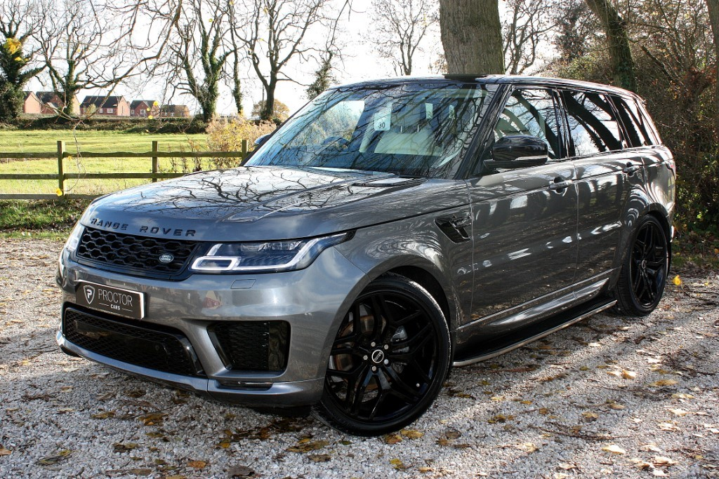 all Land Rover Range Rover Sport 3.0 SD V6 HSE CommandShift 2 AWD (s/s) 5dr in wessington-derbyshire