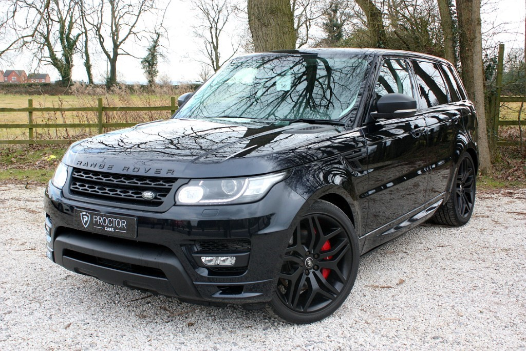 all Land Rover Range Rover Sport 3.0 SD V6 Autobiography Dynamic 4X4 (s/s) 5dr in wessington-derbyshire