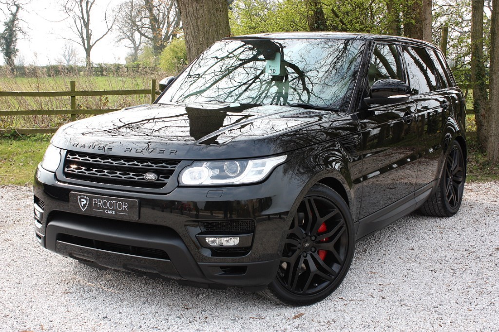 all Land Rover Range Rover Sport 3.0 SD V6 HSE Dynamic 4X4 (s/s) 5dr in wessington-derbyshire