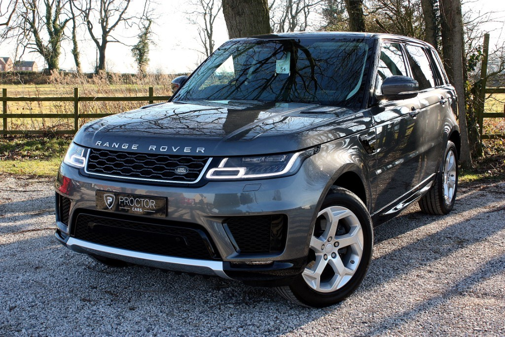all Land Rover Range Rover Sport 2.0 SD4 HSE CommandShift 2 AWD (s/s) 5dr in wessington-derbyshire