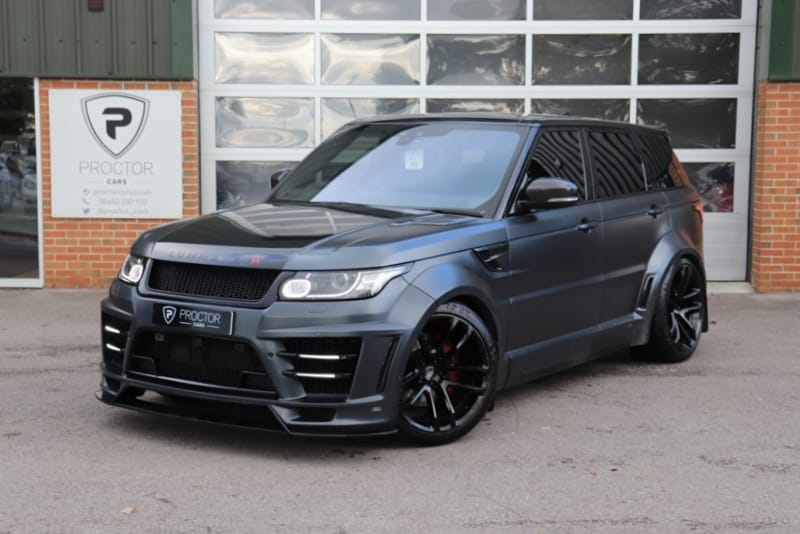 Used Land Rover Range Rover Sport from Proctor Cars