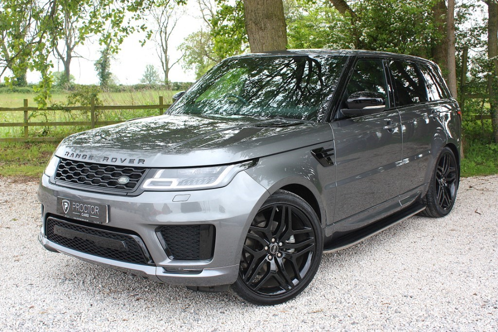 all Land Rover Range Rover Sport 3.0 SD V6 HSE CommandShift 2 4X4 (s/s) 5dr in wessington-derbyshire
