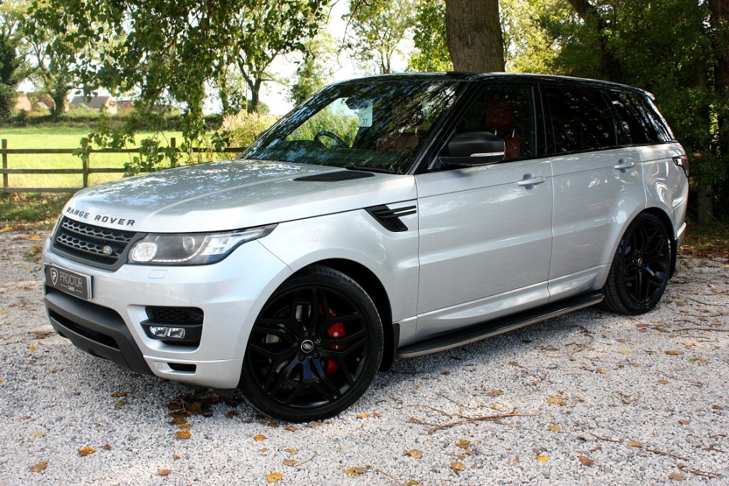 all Land Rover Range Rover Sport 3.0 SD V6 HSE Dynamic CommandShift 2 4X4 (s/s) 5dr in wessington-derbyshire