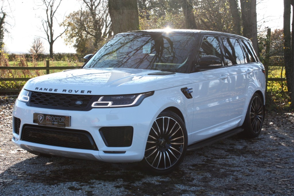 all Land Rover Range Rover Sport 3.0 SD V6 HSE Auto 4WD (s/s) 5dr in wessington-derbyshire