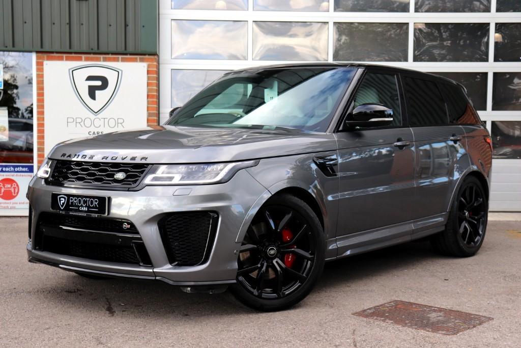 all Land Rover Range Rover Sport 5.0 P575 V8 SVR Auto 4WD (s/s) 5dr in wessington-derbyshire