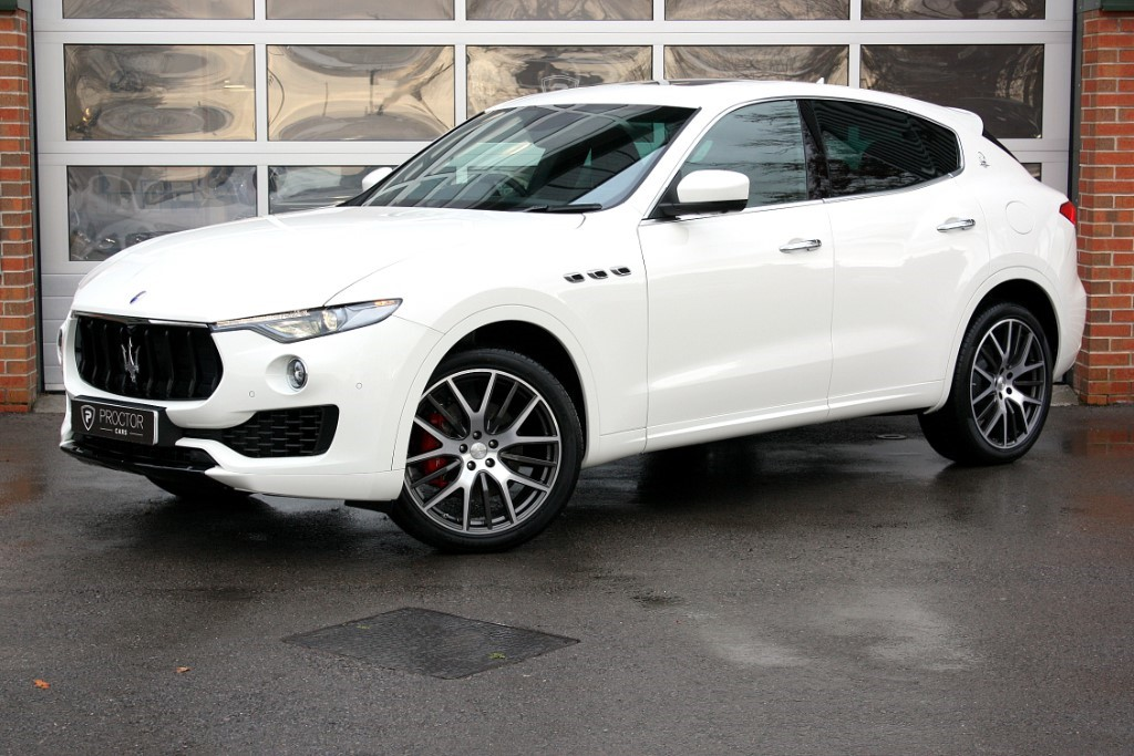 all Maserati  Levante 3.0 TD (Sport Pack) 4x4 5dr in wessington-derbyshire