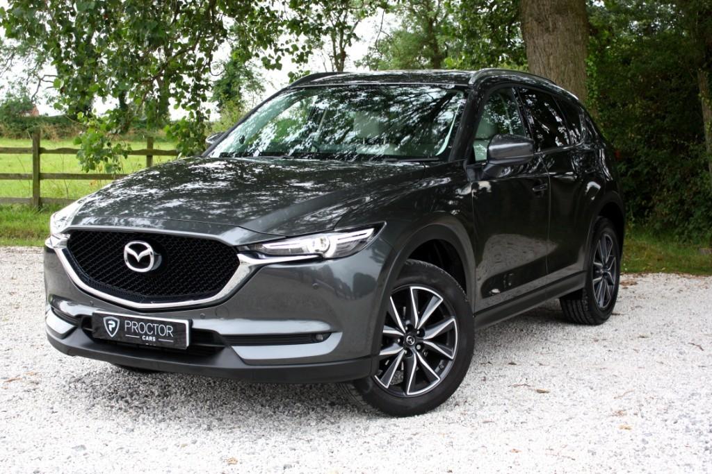 all Mazda CX-5 2.2 SKYACTIV-D Sport Nav (s/s) 5dr in wessington-derbyshire