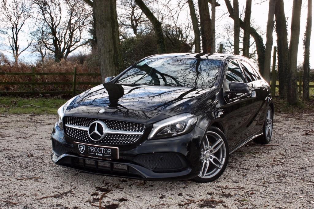 all Mercedes A200 A Class 1.6 AMG Line (Premium Plus) 7G-DCT (s/s) 5dr in wessington-derbyshire