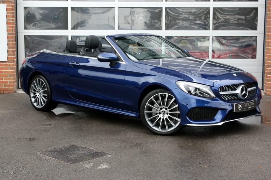 Mercedes c class c220 d amg line premium plus cabriolet for Mercedes benz finance phone number