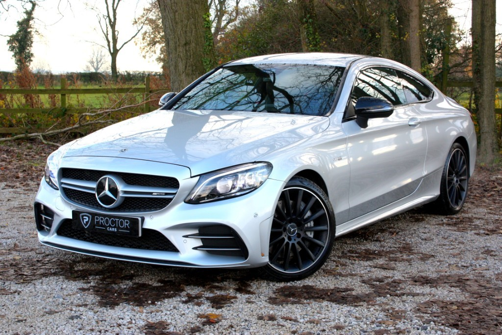 all Mercedes C43 AMG C Class 3.0 V6 G-Tronic+ 4MATIC (s/s) 2dr in wessington-derbyshire