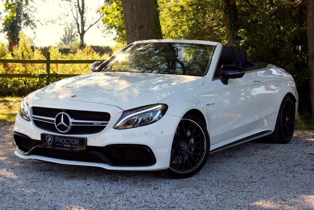 all Mercedes C63 AMG (Premium) Cabriolet 7G-Tronic Plus (s/s) 2dr in wessington-derbyshire