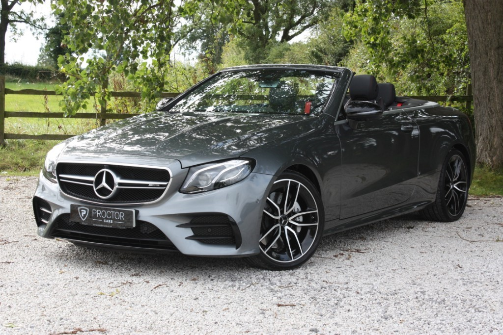 all Mercedes E53 AMG 3.0 EQ Boost AMG Cabriolet SpdS TCT 4MATIC+ (s/s) 2dr in wessington-derbyshire