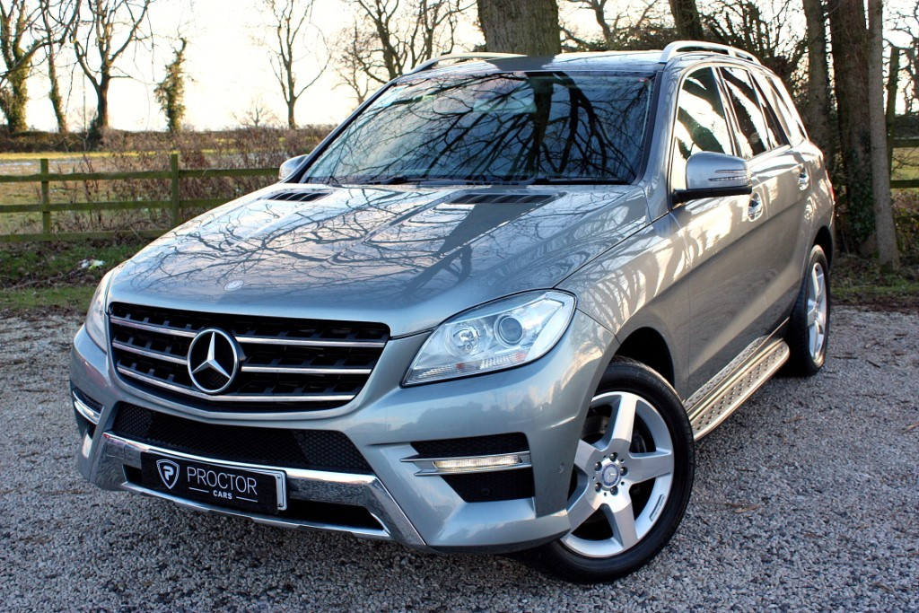 all Mercedes ML250 M Class 2.0 CDI BlueTEC Sport 5dr in wessington-derbyshire