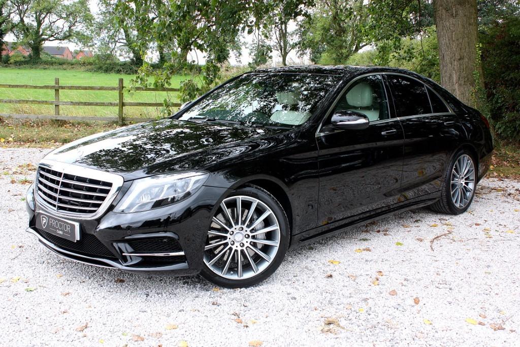 all Mercedes S350 d S Class 3.0 AMG Line (Premium) 9G-Tronic Plus 4dr in wessington-derbyshire