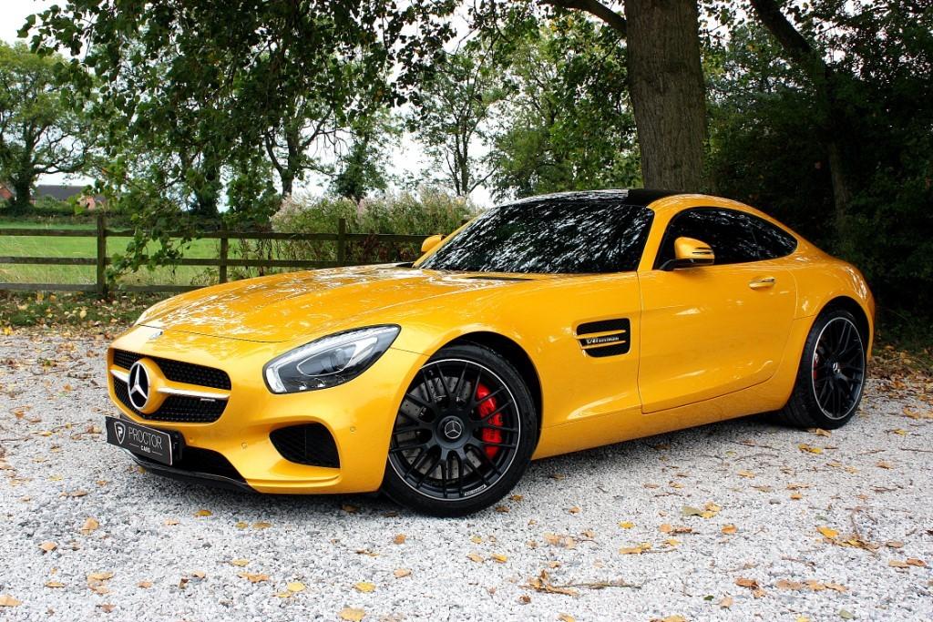 all Mercedes  Amg Gt 4.0 S (Premium) Speedshift DCT (s/s) 2dr in wessington-derbyshire