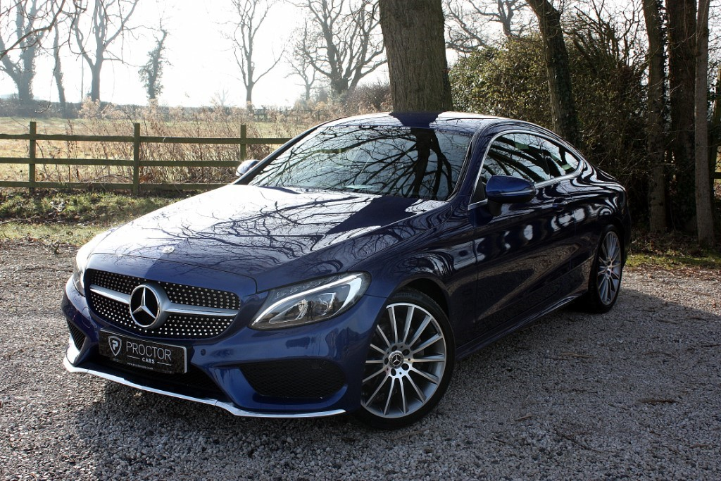 all Mercedes  2.1 C220d AMG Line 9G-Tronic Plus (s/s) 2dr in wessington-derbyshire