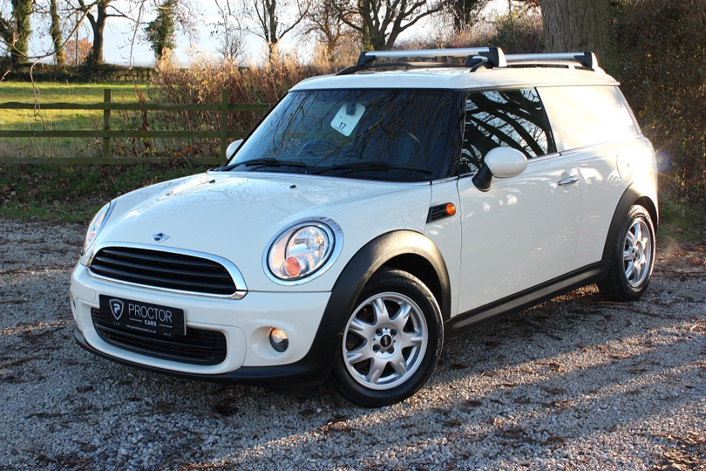 all MINI  Clubvan 1.6 16v One 5dr (EU6) in wessington-derbyshire