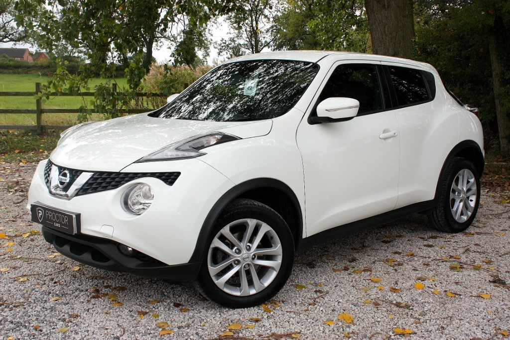 all Nissan Juke 1.5 dCi N-Connecta (s/s) 5dr in wessington-derbyshire