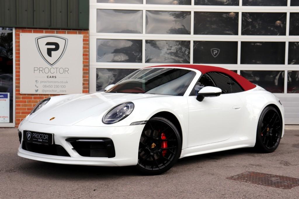 all Porsche 911 3.0T 992 Carrera 4S PDK 4WD (s/s) 2dr in wessington-derbyshire