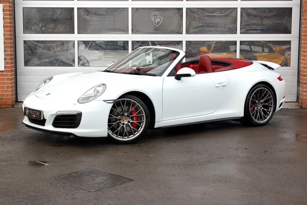 all Porsche 911 3.0 991 Carrera 4S Cabriolet PDK AWD 2dr in wessington-derbyshire